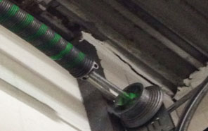 Torsion overhead spring