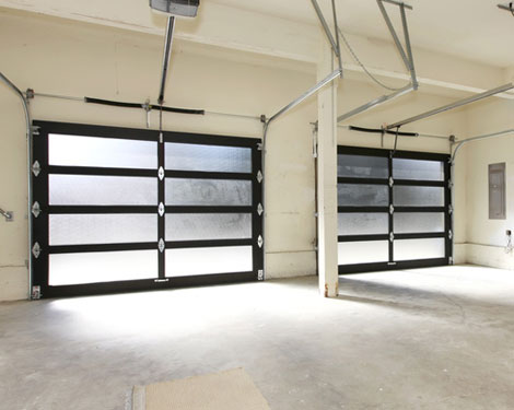 Glass garage door Ossining