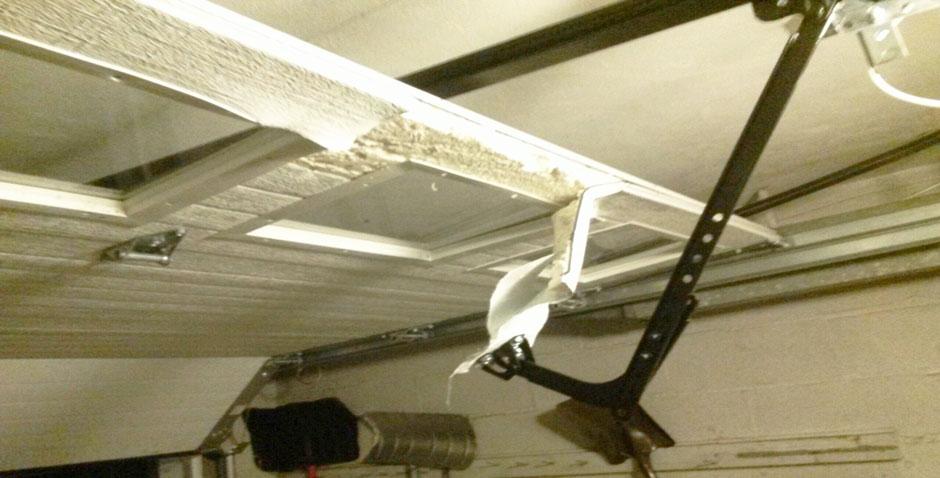 Broken garage opener in Ossining New York
